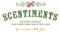 Scentiments MOM Gift Candle Cinnamon Scented Fragrance 16oz