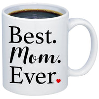 Best Mom Ever Mug,Coffee Mug,Mothers Day Mug,New Mommy,Mom Gift Mug Cup with Stirring Spoon Gift for Mom