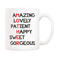 Christmas Gifts Mom Definition Funny Coffee Mug Best Birthday Gifts