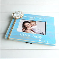 Personalized Picture Frame Mimi Mother's Day Gift Kid's picture frame Always your little baby Custom Photo Frame