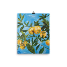 Load image into Gallery viewer, Lemon Poster