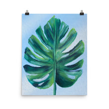 Load image into Gallery viewer, Monserrat Leaf Poster