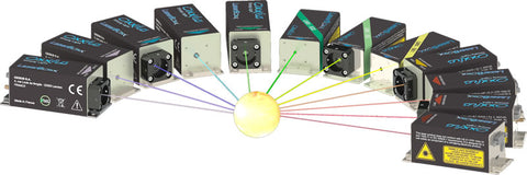 Oxxius LBX series, low-noise laser-diode modules
