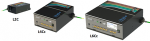 Oxxius L2C, L4Cc, L6Cc Laser Combiners for Oxxius LBX Diode and LCX DPSS Lasers