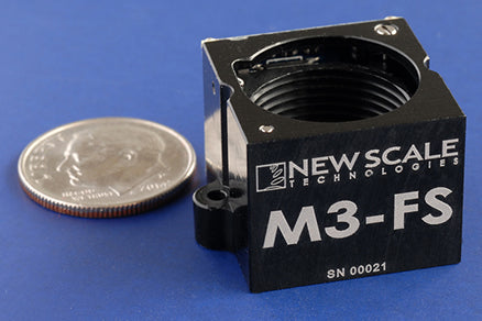 New Scale Technologies - M3-F and M3-FS focus modules