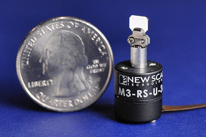 New Scale Technologies - Developer's kit for M3-RS-U-360 rotary positioning