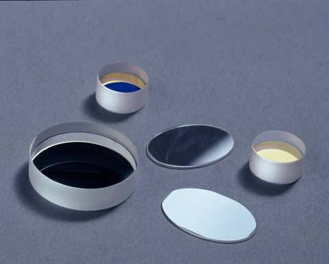 Dielectric Mirrors (Fused Silica, 12.7 mm diameter, 3mm thickness)