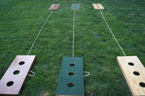 Image of 3 Hole Washers Game - Handmade in the USA