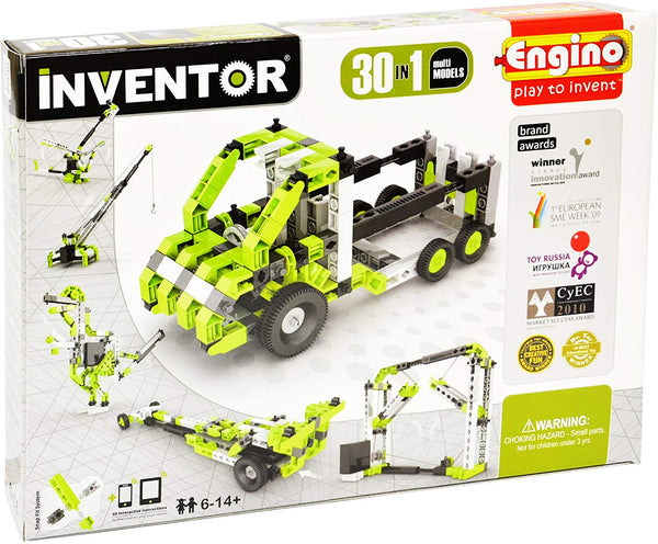 MOTORISED INVENTOR 30-IN-1 BUILDING SET