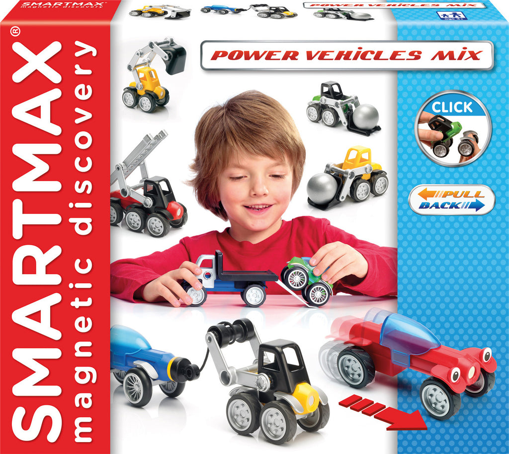 POWER VEHICLES SMARTMAX MAGNETIC GAME