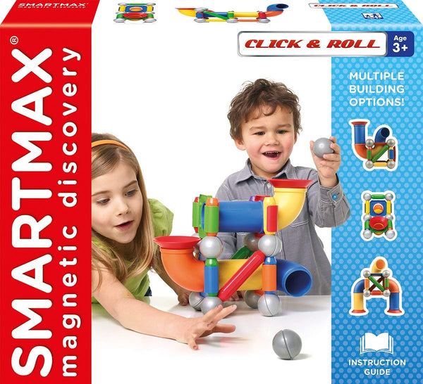 CLICK & ROLL SMARTMAX MAGNETIC GAME