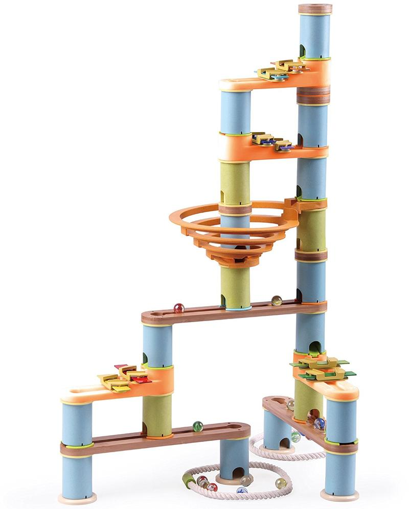 BAMBOO BUILDER MARBLE RUN (127pc SET)