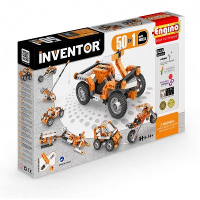 MOTORISED INVENTOR 50-IN-1 BUILDING SET