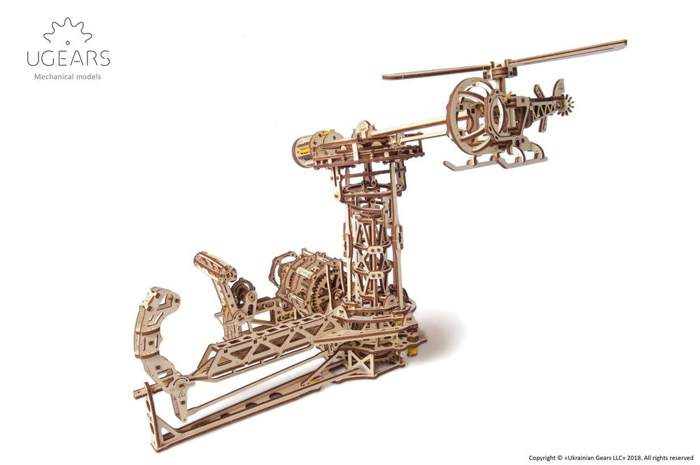 UGEARS - AVIATOR MECHANICAL MODEL KIT