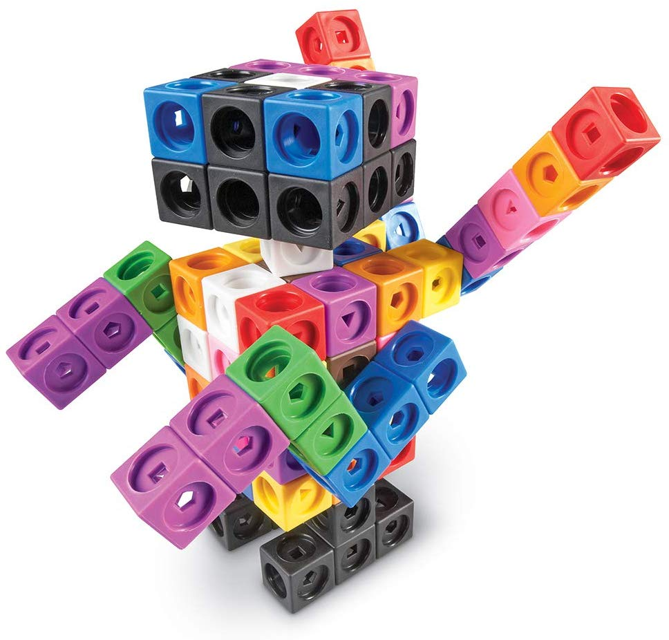 MATHLINK CUBES: BIG BUILDERS