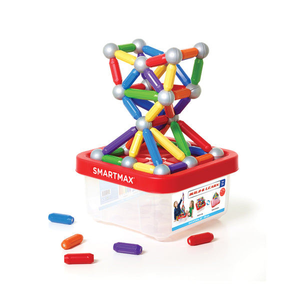 BUILD & LEARN SMARTMAX MAGNETIC GAME (100 pc)
