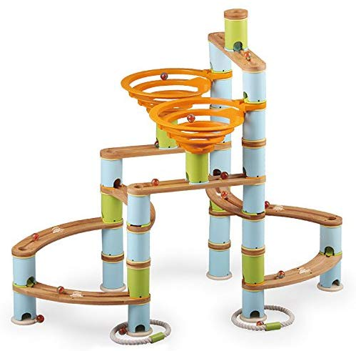 BAMBOO BUILDER MARBLE RUN (168pc SET)