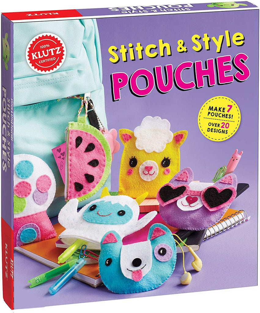 STITCH & STYLE POUCH CRAFT KIT