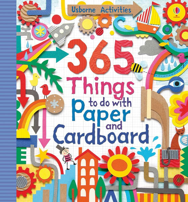 365 THINGS TO DO WITH PAPER & CARDBOARD