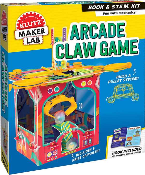ARCADE CLAW GAME CRAFT KIT