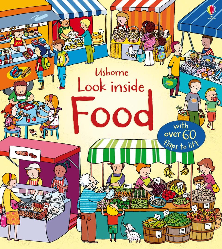 LOOK INSIDE: FOOD