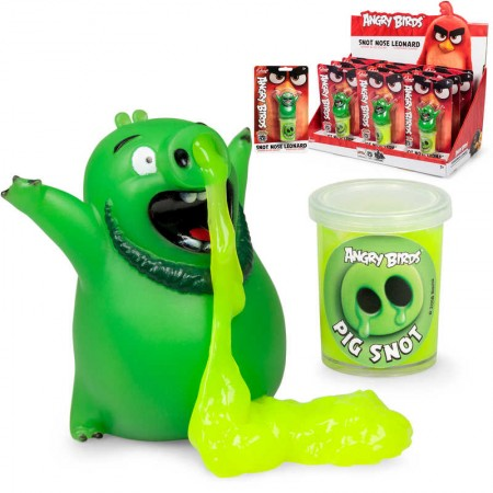 ANGRY BIRDS SNOT NOSE LEONARD SLIME