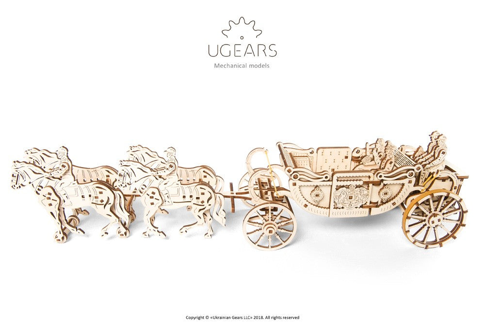 UGEARS: ROYAL WEDDING CARRIAGE