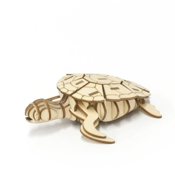 3D WOODEN PUZZLE - SEA TURTLE