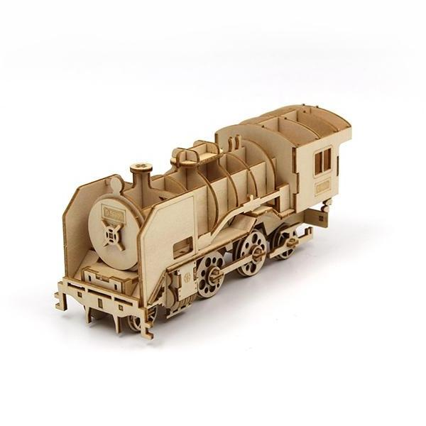 3D WOODEN PUZZLE - D51200 LOCOMOTIVE