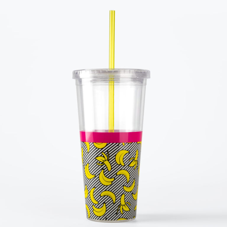 * STRAW CUP *