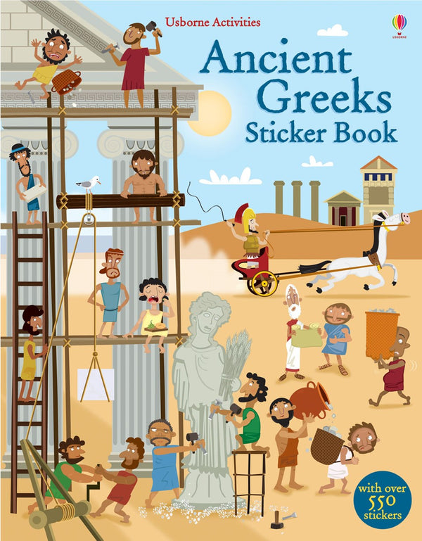 ANCIENT GREEKS STICKER BOOK
