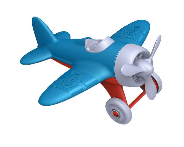 GREEN TOYS - AIRPLANE (BLUE)