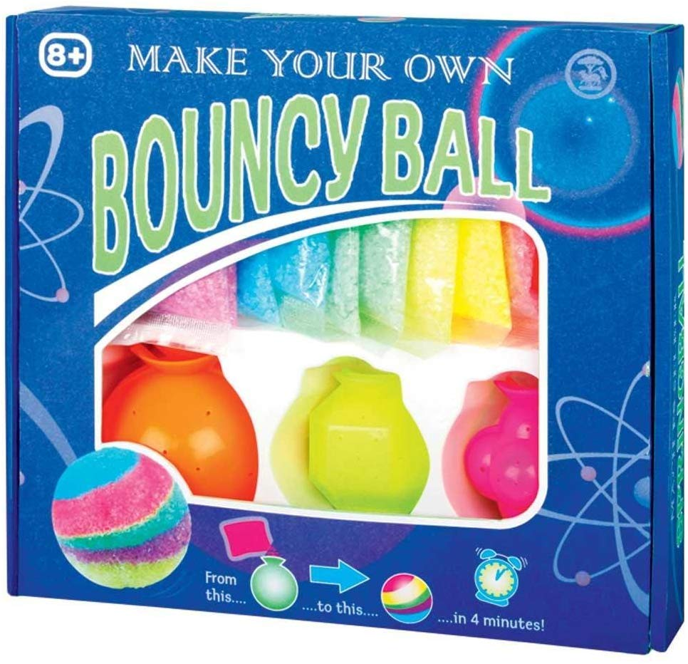 MAKE YOUR OWN BOUNCY BALLS KIT
