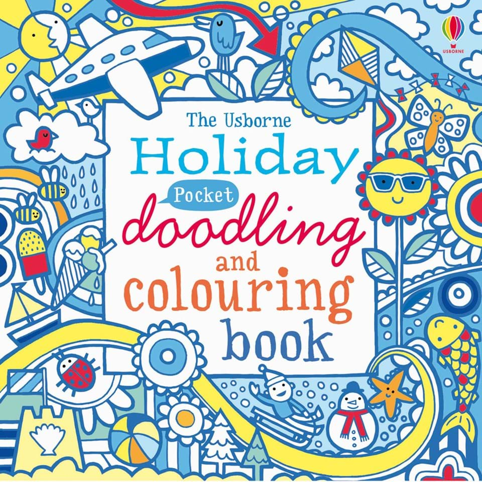 POCKET DOODLING & COLOURING BOOKS