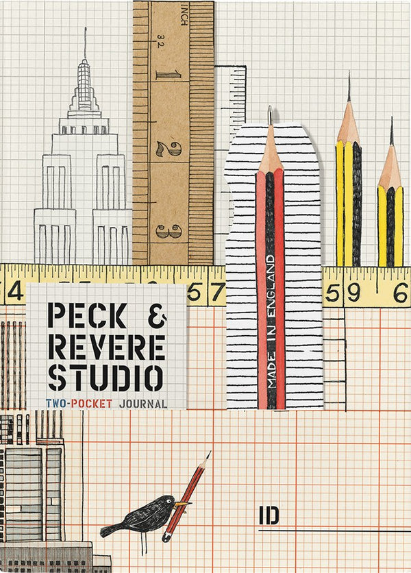 PECK & REVERE STUDIO (TWO-POCKET JOURNAL)
