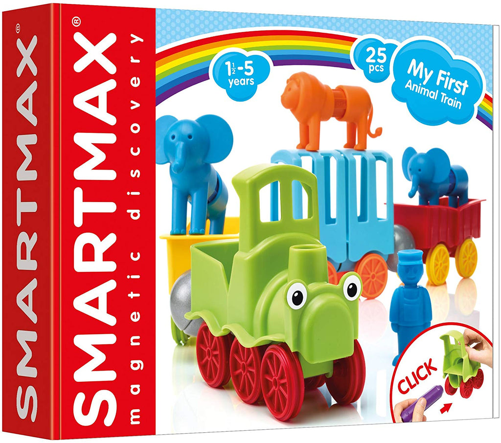 MY FIRST ANIMAL TRAIN SMARTMAX MAGNETIC GAME