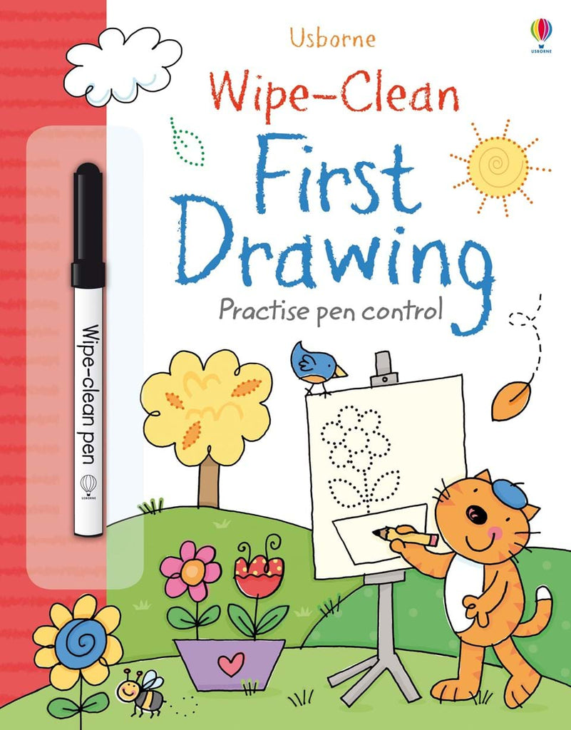 WIPE-CLEAN: FIRST DRAWING