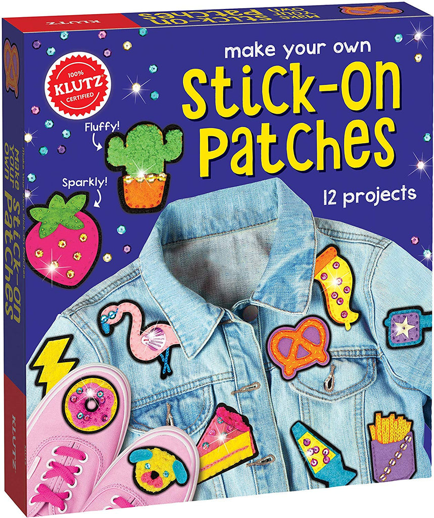 MAKE YOUR OWN STICK-ON PATCHES CRAFT KIT