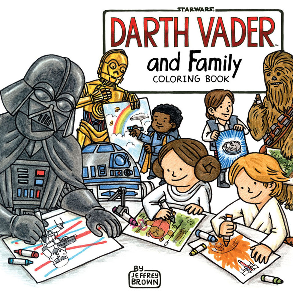 STAR WARS: DARTH VADER & FAMILY COLOURING BOOK
