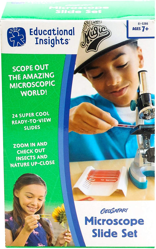 GEOSAFARI JR: MICROSCOPE SLIDE SET