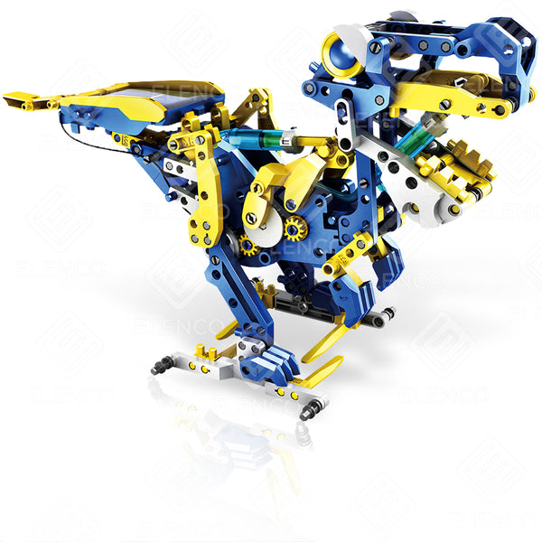 RIVET-REX 12 - TRANSFORMABLE SOLAR POWERED ROBOT KIT