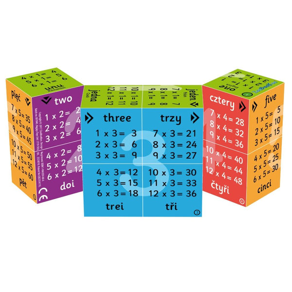 CUBE BOOKS: MULTIPLICATION