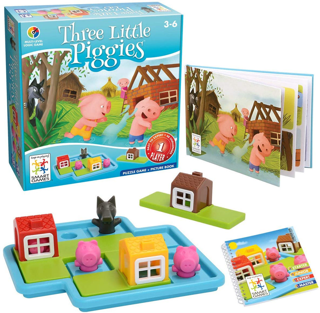 THREE LITTLE PIGGIES DELUXE COGNITIVE SKILL-BUILDING GAME