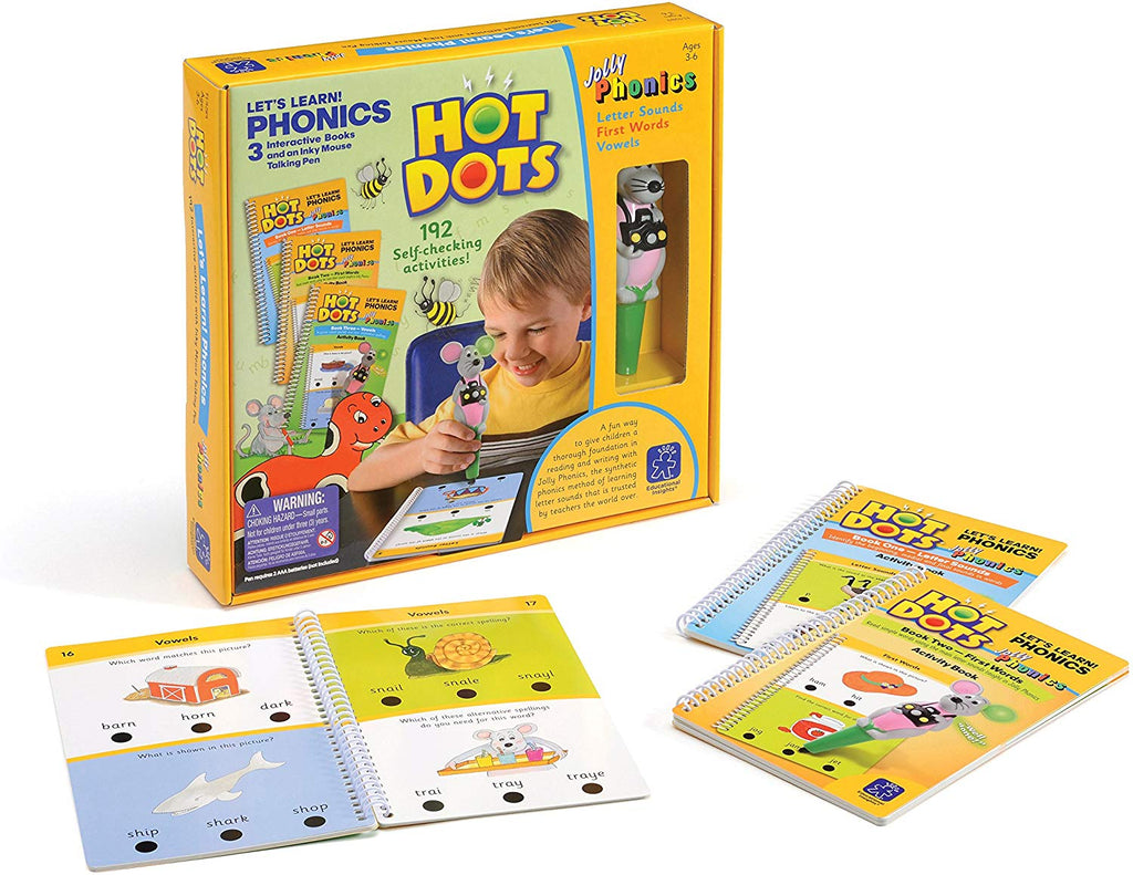 HOT DOTS: LET'S LEARN PHONICS!