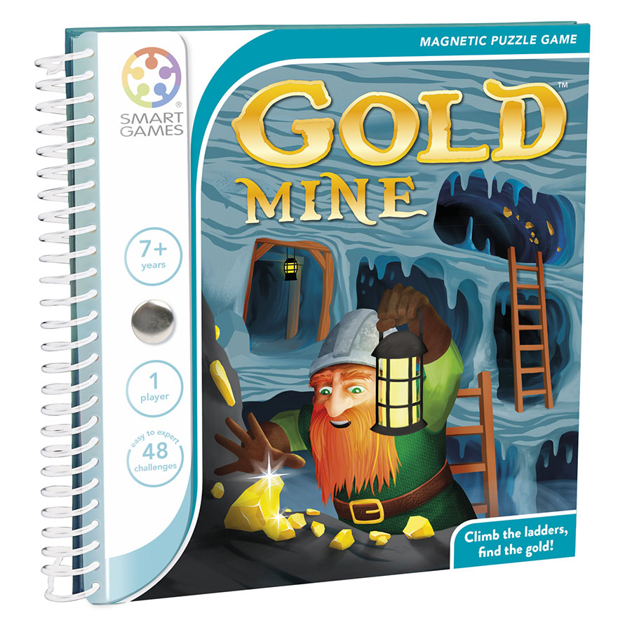 GOLD MINE MAGNETIC TRAVEL GAME