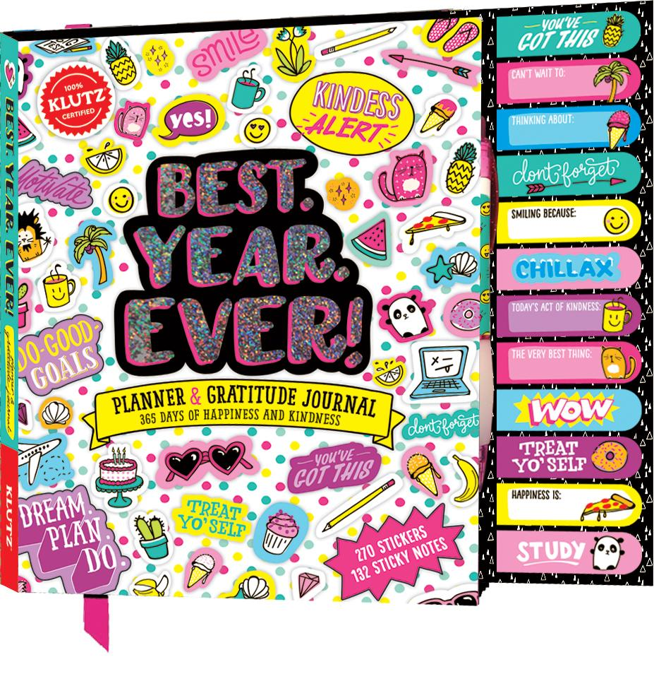 BEST. YEAR. EVER! (PLANNER & GRATITUDE JOURNAL)