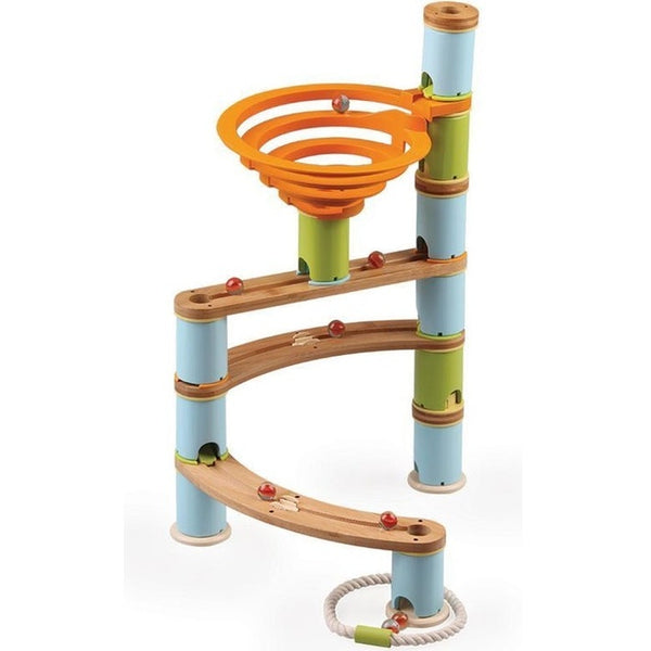 BAMBOO BUILDER MARBLE RUN (78pc SET)