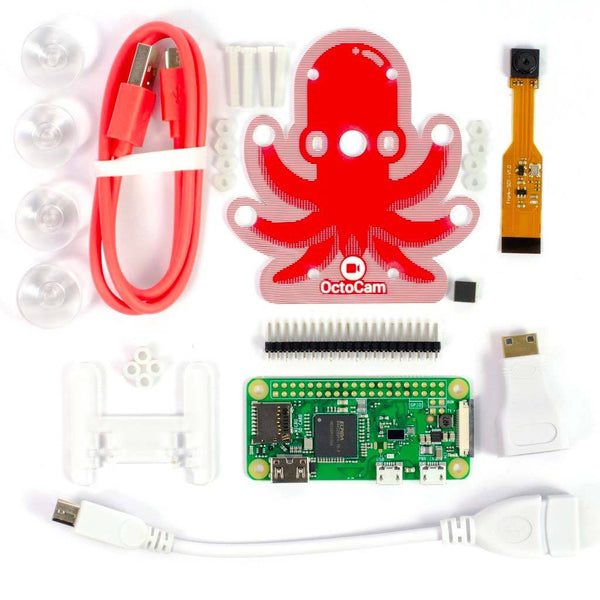 RASPBERRY PI ZERO W: PROJECT KIT (OCTO-CAM)