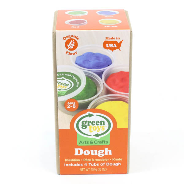 GREEN TOYS - DOUGH (4 PACK)