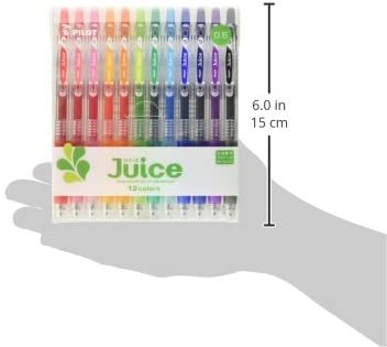 PILOT JUICE GEL PEN SET BASIC COLORS